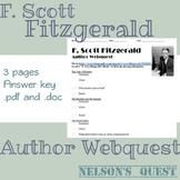 F. Scott Fitzgerald Author Webquest