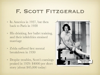 F. Scott Fitzgerald Overview / Biography Presentation