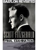 "F. Scott Fitzgerald's ""Babylon Revisited"" 50 Multiple Choice Question Quiz & Key"