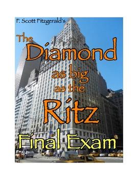 "F. Scott Fitzgerald's ""The Diamond as Big as the Ritz"" Quiz (W/ Answer Key)"