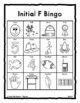 F Sound ARTICULATION Bingo Make & Take, SPEECH THERAPY