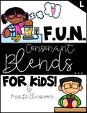 F.U.N Consonant Blends for Kids - L-Blends!