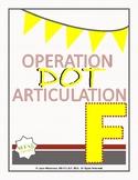 F, V Operation Dot Articulation