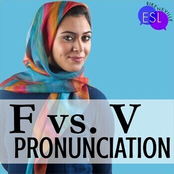 F V Pronunciation / Phonics for ESL Adults