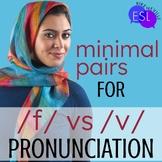 F V Pronunciation for Adult ESL