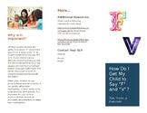 F and V Sounds Brochure for Parents