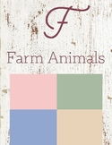 F is for Farm Animals