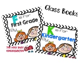 F is for First Grade/K is for Kindergarten