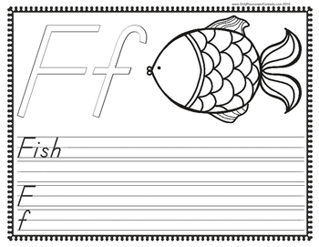 F is for Fish