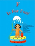 F is for Fun (F sound in F, FF, FFE, GH, PH) Distance Learning