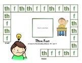 F versus TH Sound Discrimination: Minilesson, Sound Sort,