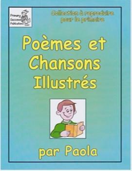 Poèmes et chansons illustrés Immersion M-1-2 Section 1/2  F12