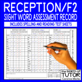 {sight words assessment and monitoring list} {sight words ASSESSMENT CHECK LIST}