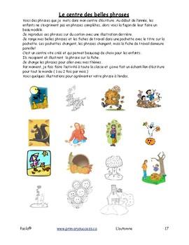 L'automne M-1-2 86 pages   F29
