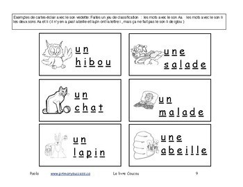 Livre Coucou Section 1/2 196 pages M-1  Immersion F3