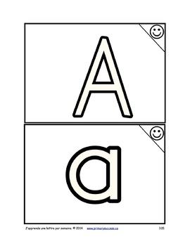 J'apprends une lettre par semaine F8