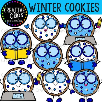Winter Smart Cookies: Winter Clipart {Creative Clips Clipart}