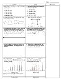 Third Grade Math Test Prep FAB 5 Week 2