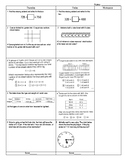 Third Grade Math Test Prep FAB 5 Week 4