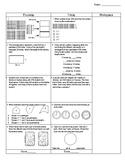 Third Grade Math Test Prep FAB 5 Week 6