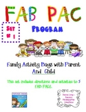 FAB PAC -Family Activity Bags with Parent And Child - Set # 1