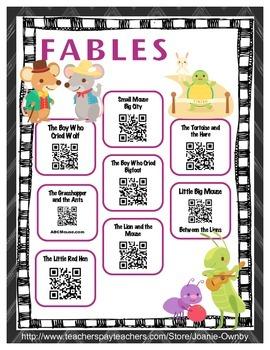Fables QR Stories