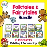 FAIRYTALES, FABLES AND FOLKTALES ACTIVITIES for COMMON CORE Bundle