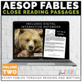 Fables Unit Close Reading Strategies & Text Structure | Di