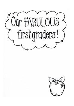 FABULOUS 1st Graders