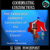 Coordinating Conjunctions PowerPoint Lesson