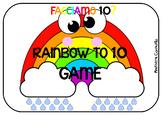 FACCIAMO 10? - RAINBOW TO 10 GAME + ACTIVITY