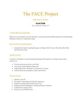 FACE Project 3-5th Grade Social Skills Module