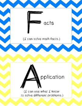 FACE of math (math cafe board)