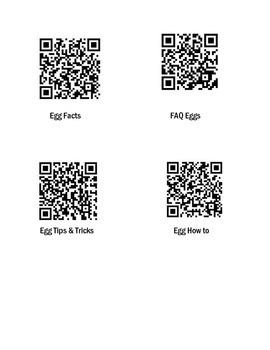 FACS Egg QR Codes