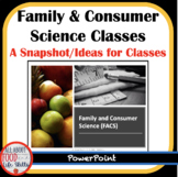 FACS/FCS Class and Unit Ideas
