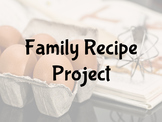 FACS Family Recipe Project