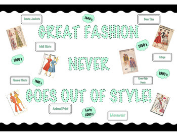 FACS Fashion Bulletin Board