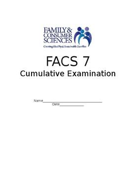 FACS Middle School Final Cumulative Exam - Pre/Post Test - Show Data