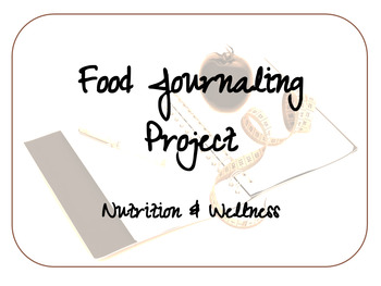 FACS Food Journal Project
