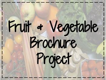 FACS Fruit & Vegetable Brochure Project