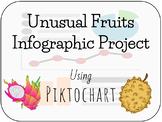 FACS- Unusual Fruits Infographic using Piktochart