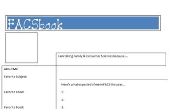 FACSbook/Social Media/Back to School