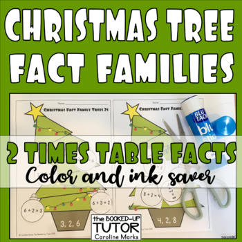 FACT FAMILIES Tables/Division Christmas Version 1-12