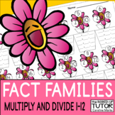 {Multiplication FACT FAMILIES} {FACT FAMILY TRIANGLES} {DIVISION FACTS}