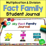 FACT FAMILY JOURNAL FOR MULTIPLICATION AND DIVISION