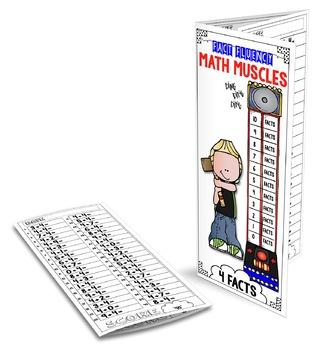 FACT FLUENCY Math Muscles Trifolds