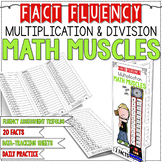 FACT FLUENCY Math Muscles Trifolds { x and ÷ }