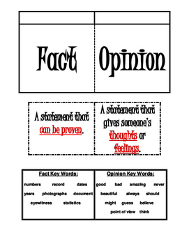 Free Fact And Opinion Worksheets - Checks Worksheet