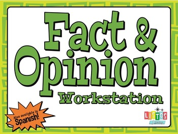 FACT & OPINION Workstation