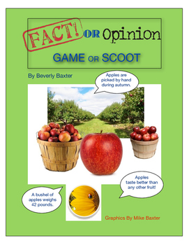 FACT OR OPINION GAME OR SCOOT